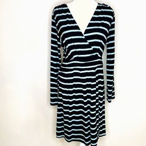 Soma Stretchy Midi Wrap Dress
